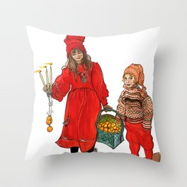 A Swedish Tale Throw Pillow