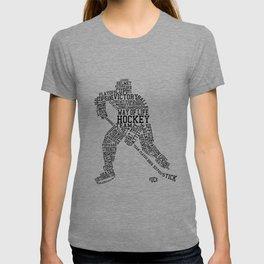 Hockey Words T-shirt