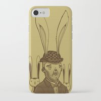 minions iPhone & iPod Cases featuring The Rabbit Man by Michael B. Myers Jr.