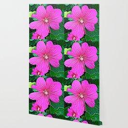 Pink Flowers of Diamond Essence Wallpaper