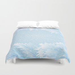 Winter background Duvet Cover