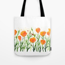 California Poppies Tote Bag