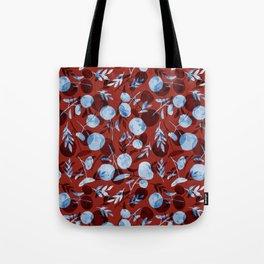 red pilea baby Tote Bag