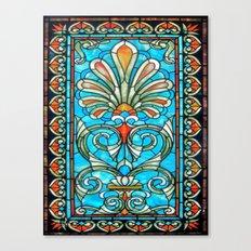 CRYPT GLASS Canvas Print