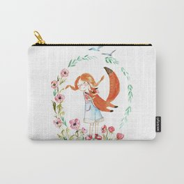 Simon and Choe- hugs Carry-All Pouch