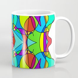Abstract Curves #1 Coffee Mug