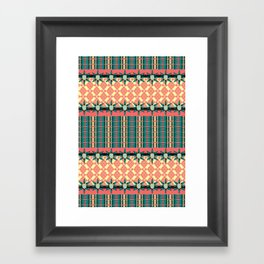 Indio americano Framed Art Print