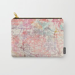 Parma map Ohio painting Carry-All Pouch