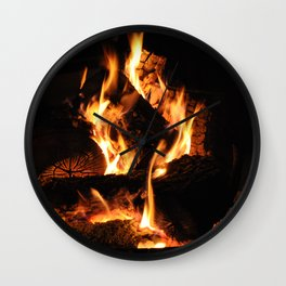 Warm me up Wall Clock