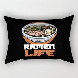 Ramen Life Japanese Japan Sushi Noodle Rectangular Pillow