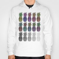 pineapples Hoodies featuring Pineapples by Hinterlund
