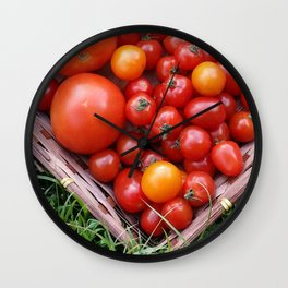 A TRAY OF GOODNESS Wall Clock