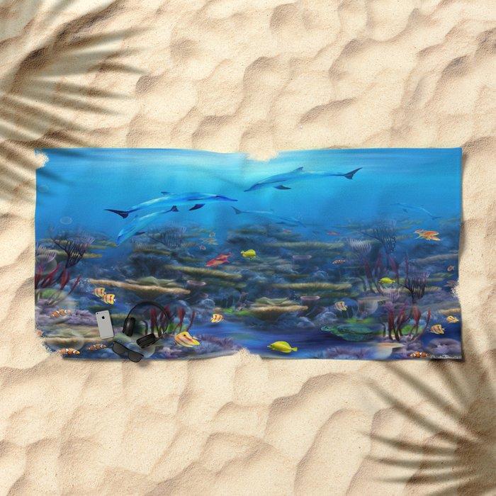 Lost Ocean Beach Towel