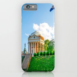 Charlottesville Virginia State Flag Campus Print iPhone Case