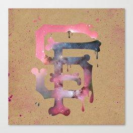 SF Bone Canvas Print