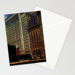 Michigan Avenue Chicago Stationery Cards