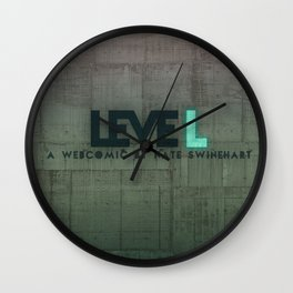 leveL - Title Wall Clock
