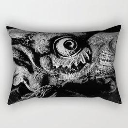 """""""Stone Guardian"""" Rectangular Pillow"""