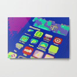 It's an App World Metal Print