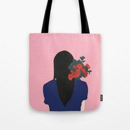 Bouquet de roses Tote Bag