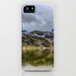 Lakes of Covadonga iPhone Case