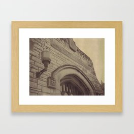 Public Library Framed Art Print