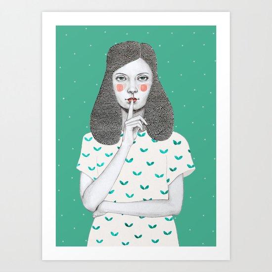 Lorena Art Print