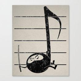 Ninjaaaah! Canvas Print