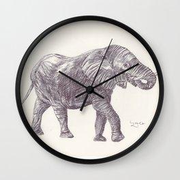 BALLPEN ELEPHANT 14 Wall Clock