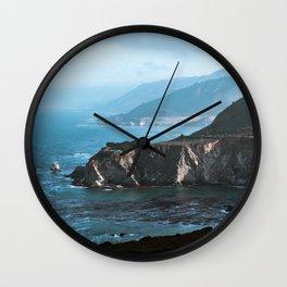 California Blue Wall Clock