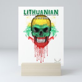 To The Core Collection: Lithuania Mini Art Print