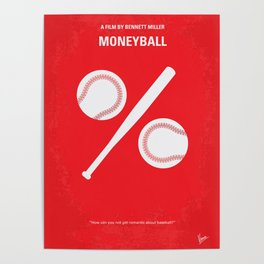 No191 My Moneyball mmp Poster