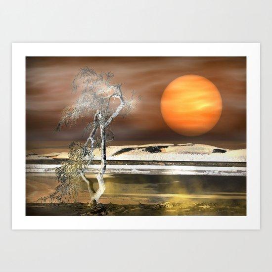 Light Effect Art Print