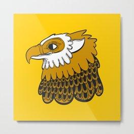 Golden Gryphon Metal Print