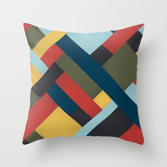 Abstrakt Adventure Throw Pillow