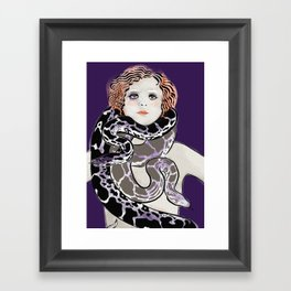 Snake Charms Framed Art Print