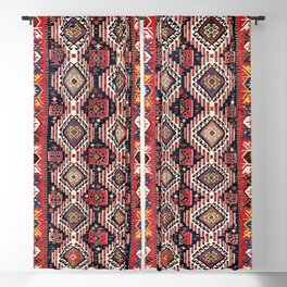 Shirvan East Caucasus Kilim Print Blackout Curtain
