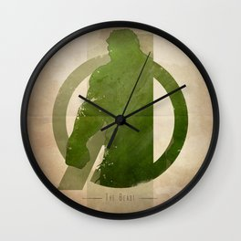 Avengers Assembled: The Beast Wall Clock