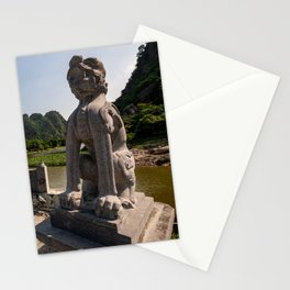Entrance of Hoa Lu Ancient Capital, Ninh Binh, Vietnam Stationery Cards