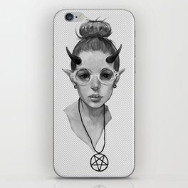 Monster Girl #3a iPhone Skin