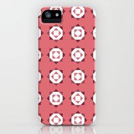 Maroccan Red Stars iPhone Case