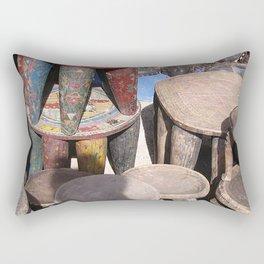 African village Rectangular Pillow
