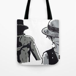 Brothers to the end Tote Bag