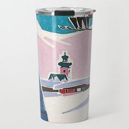 Bavaria, Germany Vintage Ski Travel Poster Travel Mug
