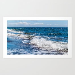 Bohol Sea Waves Art Print