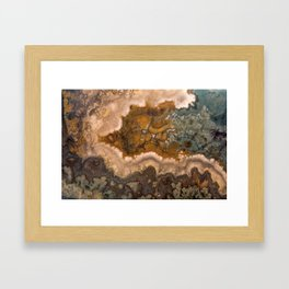Idaho Gem Stone 17 Framed Art Print