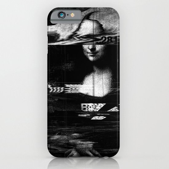 Mona Lisa Glitch iPhone & iPod Case