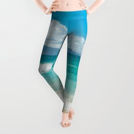 Hawaii Beach Treasures Leggings