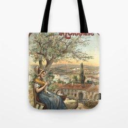 Lorraine 01 - Vintage Poster Tote Bag