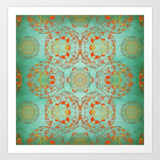 Pattern 2 Art Print